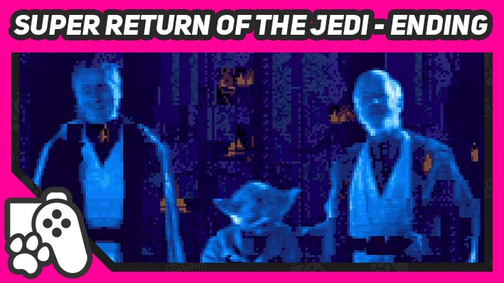 return of the jedi snes ending screenshot featured image