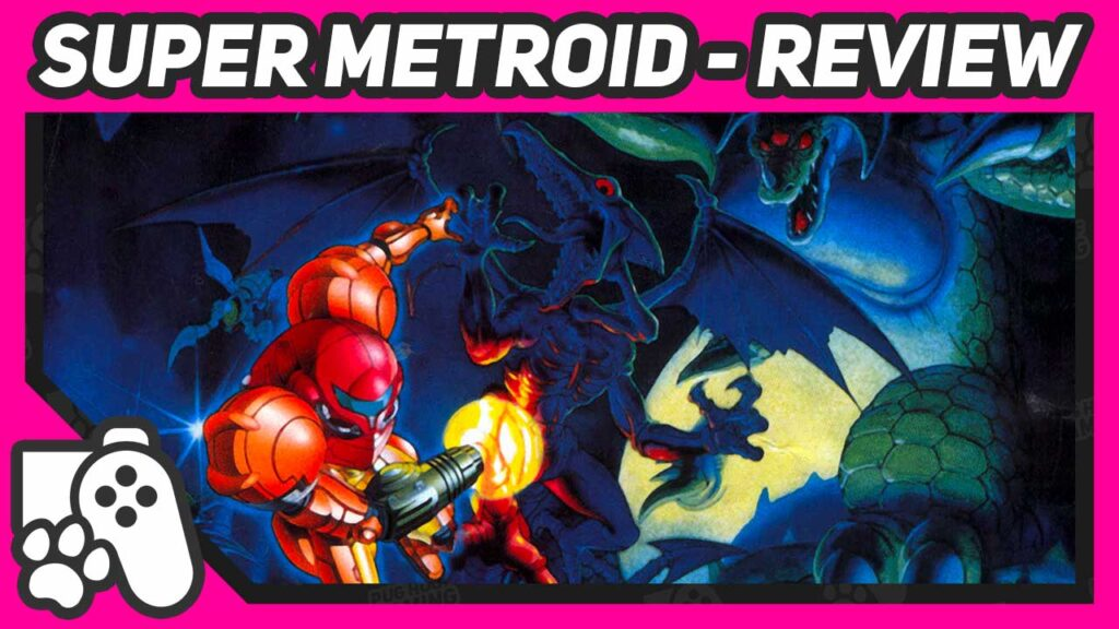 Super Metroid SNES Review Header Image
