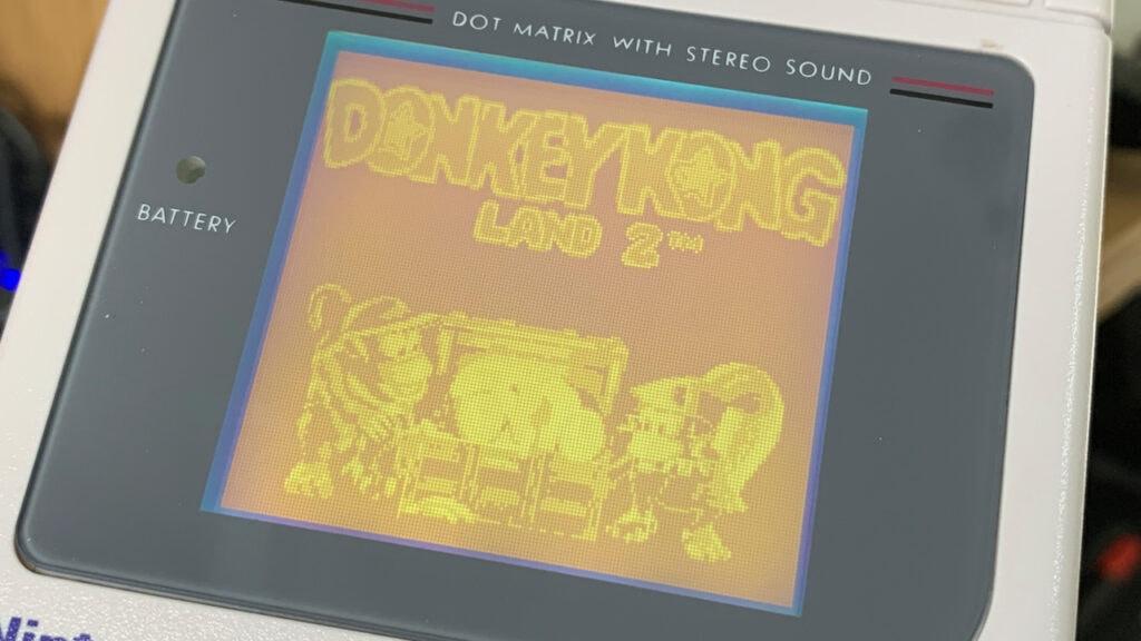 DKL 2 Title Screen Game Boy Games Nintendo Rare