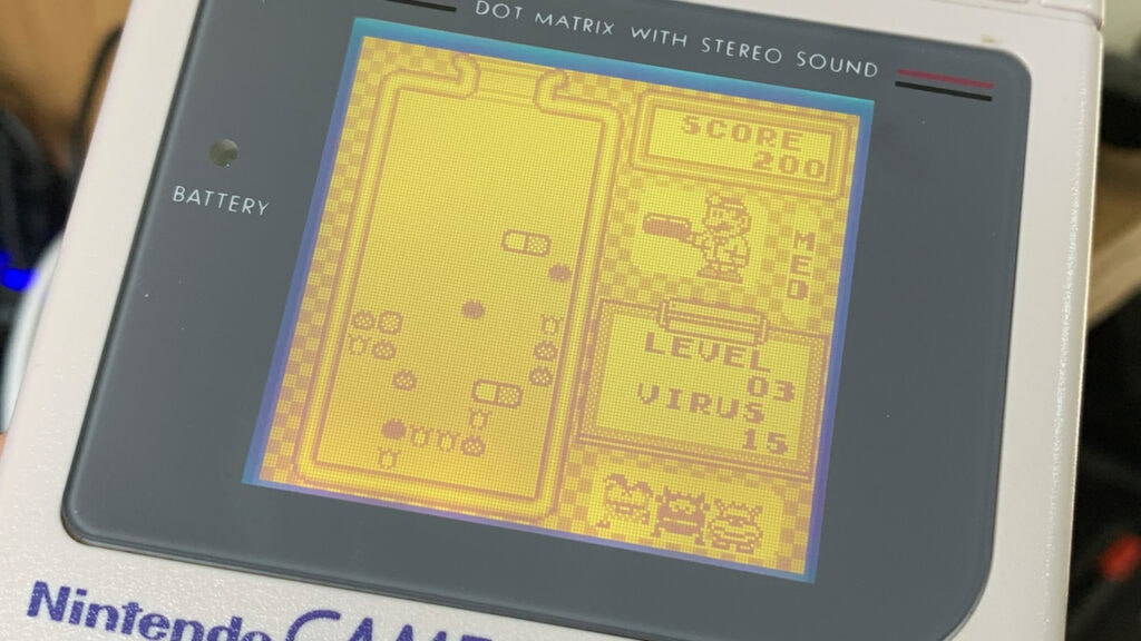 Dr Mario Game Boy Games Gameplay Nintendo