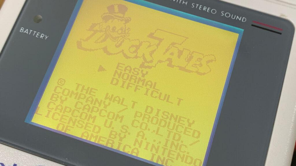 Duck Tales Capcom Game Boy Games Nintendo Title Screen