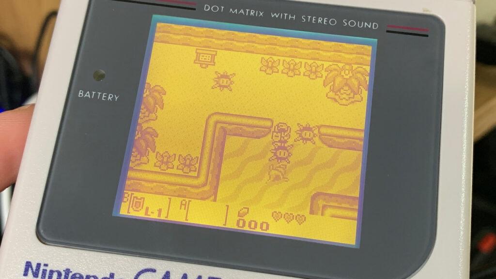 Legend of Zelda Game Boy Gameplay Links Awakening GameBoy Game