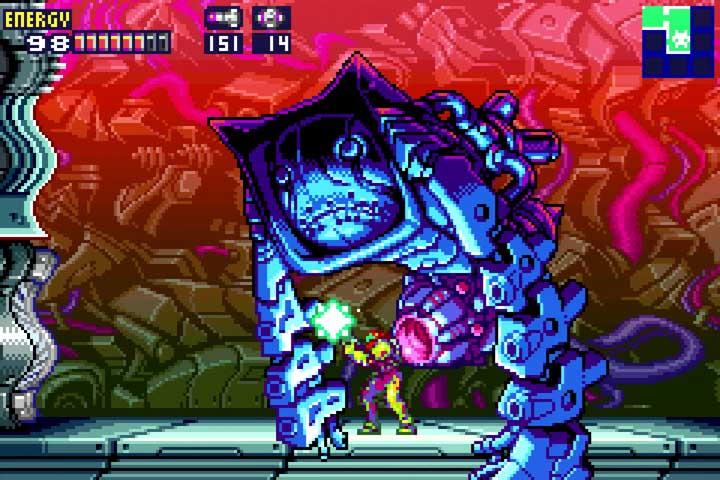 Metroid Fusion Nightmare Boss