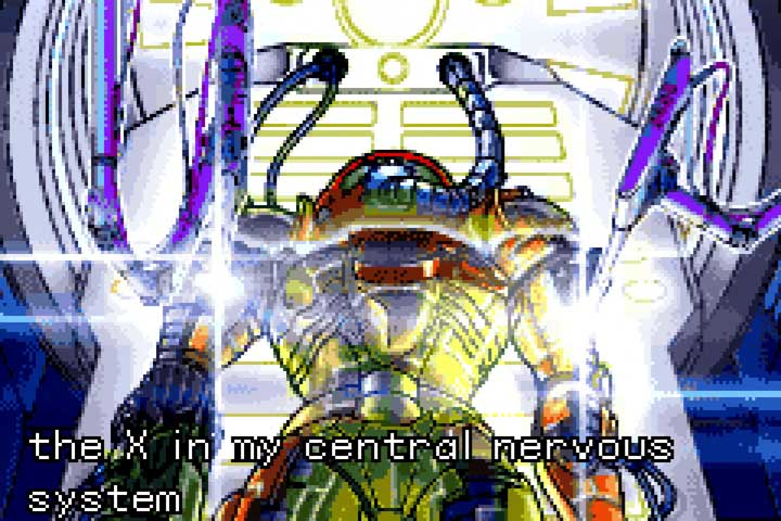 Metroid Fusion GBA Intro Sequence