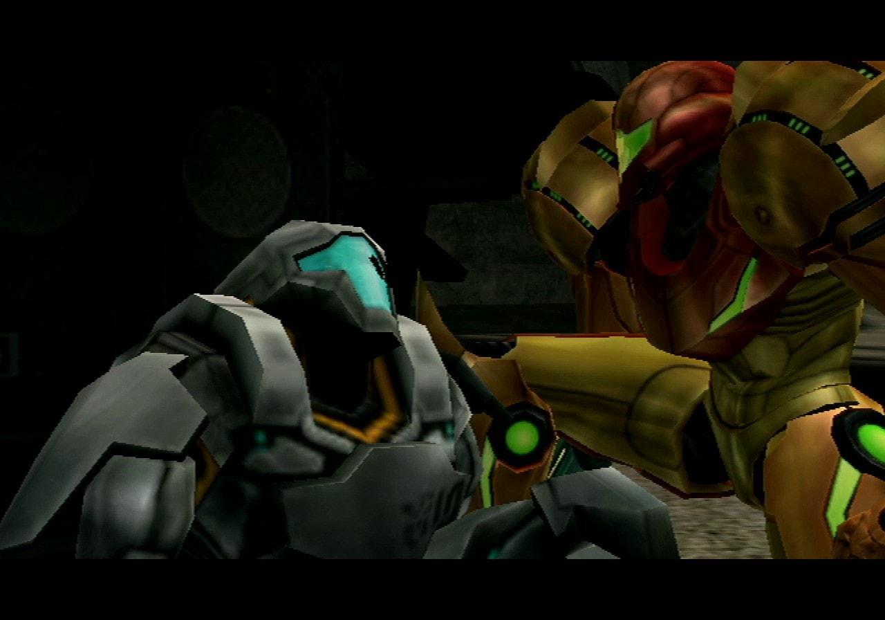 Metroid Prime 2 Echoes Marine
