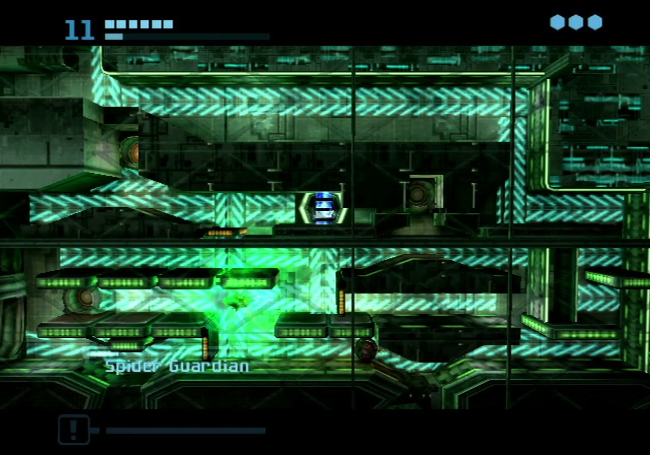 Metroid Prime 2 Echoes Spider Guardian