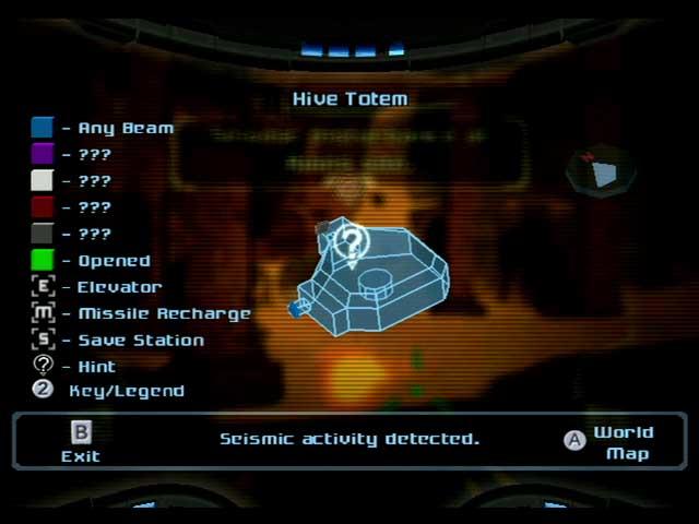 Metroid Prime Map