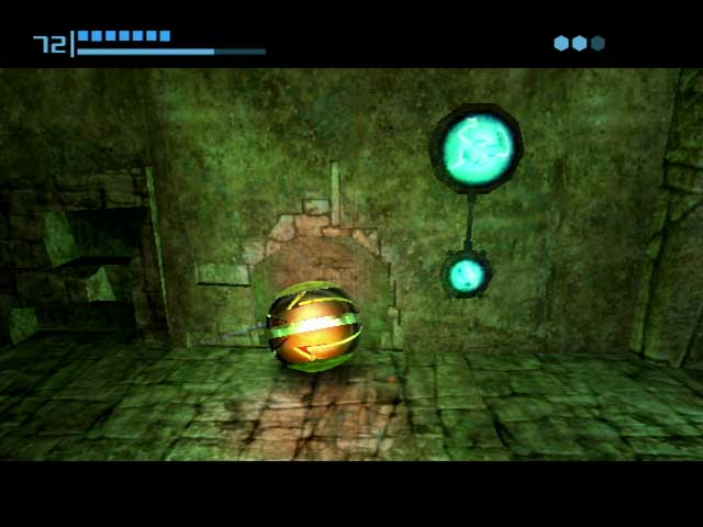 Metroid Prime Morph Ball Mode