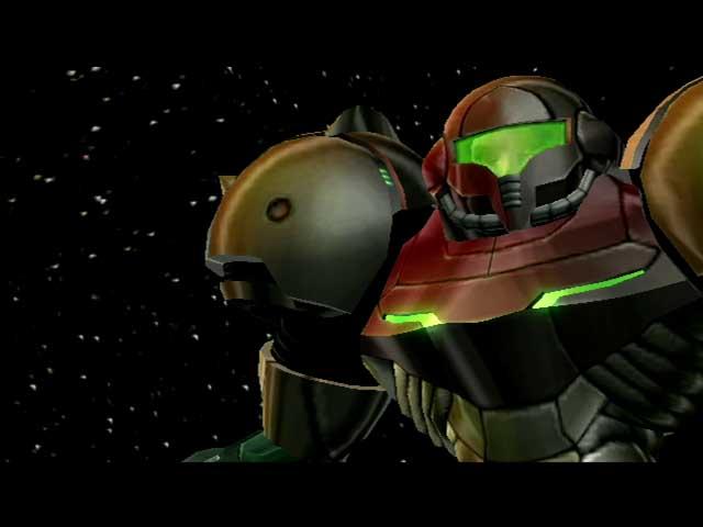 Metroid Prime Samus Cutscene