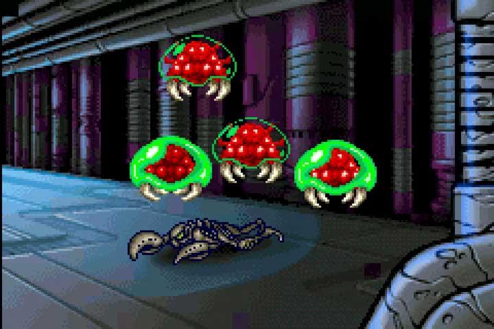 Metroid Zero Mission GBA Cutscene