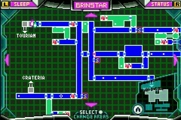 Metroid Zero Mission Map