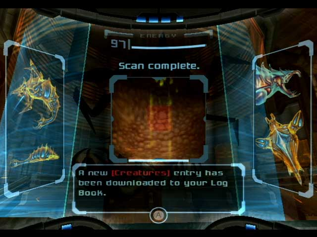 Metroid Prime Review Scan