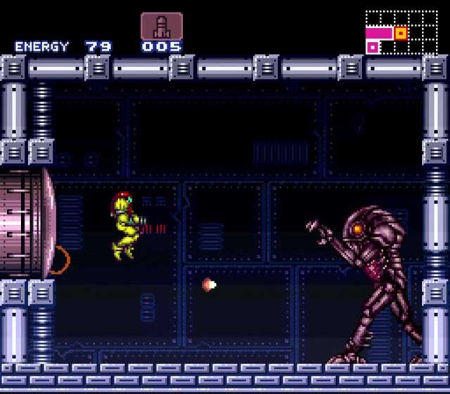 Super Metroid SNES Review Chozo Boss