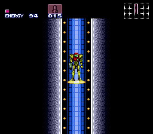 Super Metroid SNES Elevator