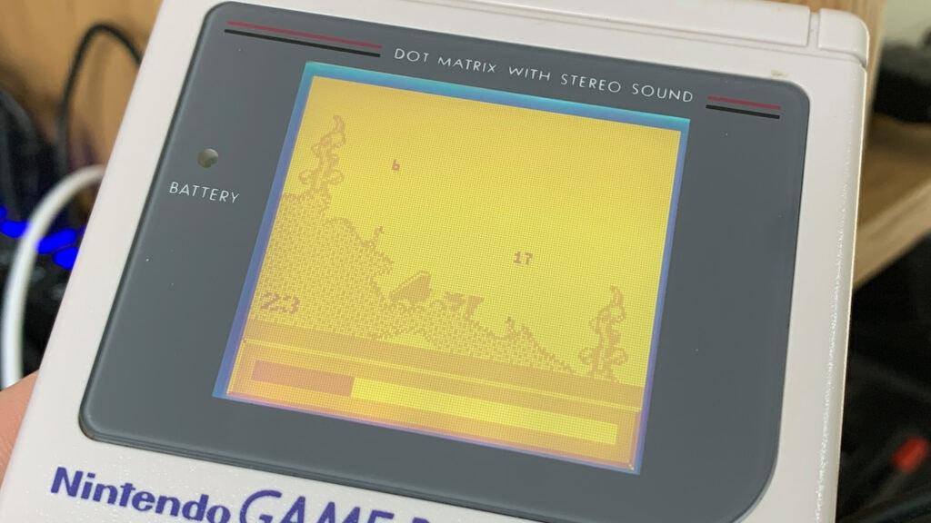 Worms Gameplay Nintendo Game Boy Games Ocean