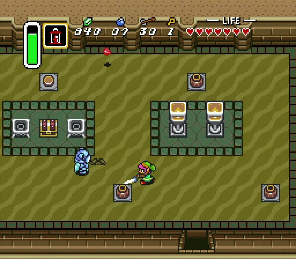 A Link To The Past Dungeon