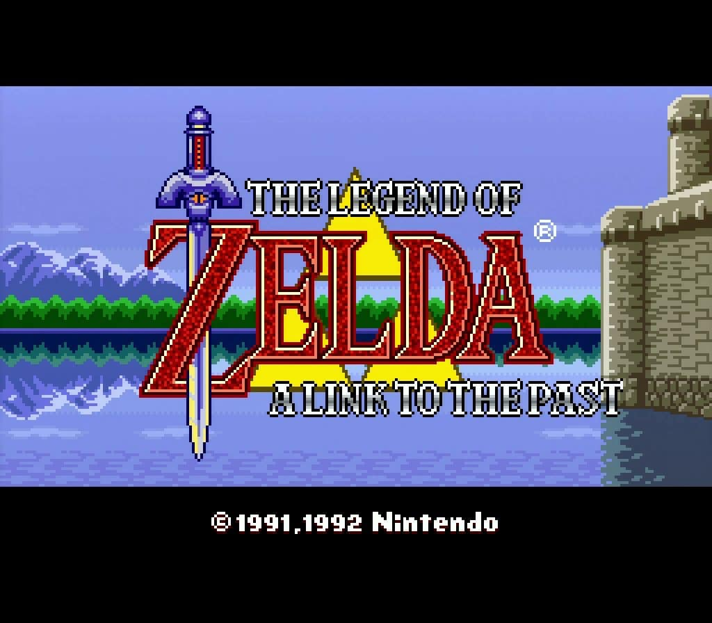 My First Zelda Game ever - A Link To The Past