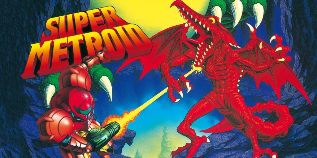 Super Metroid Ending SNES