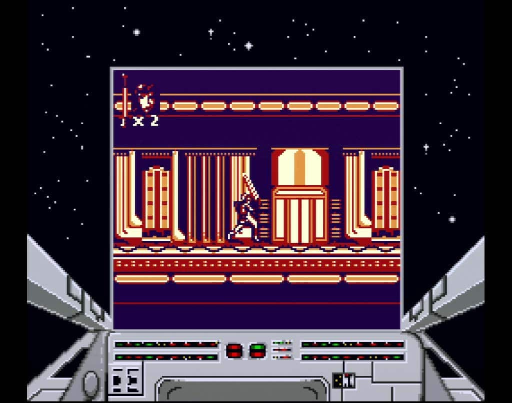 Gameplay of Return of The Jedi on Game Boy