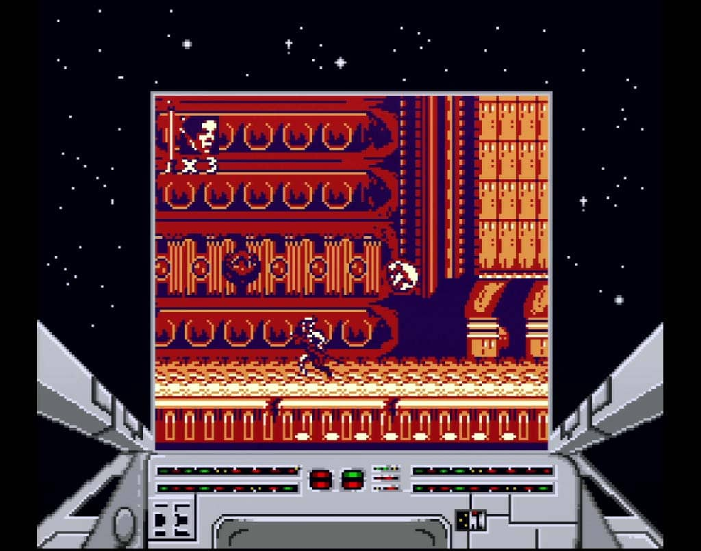 Super Return Of The Jedi Game Boy Boss