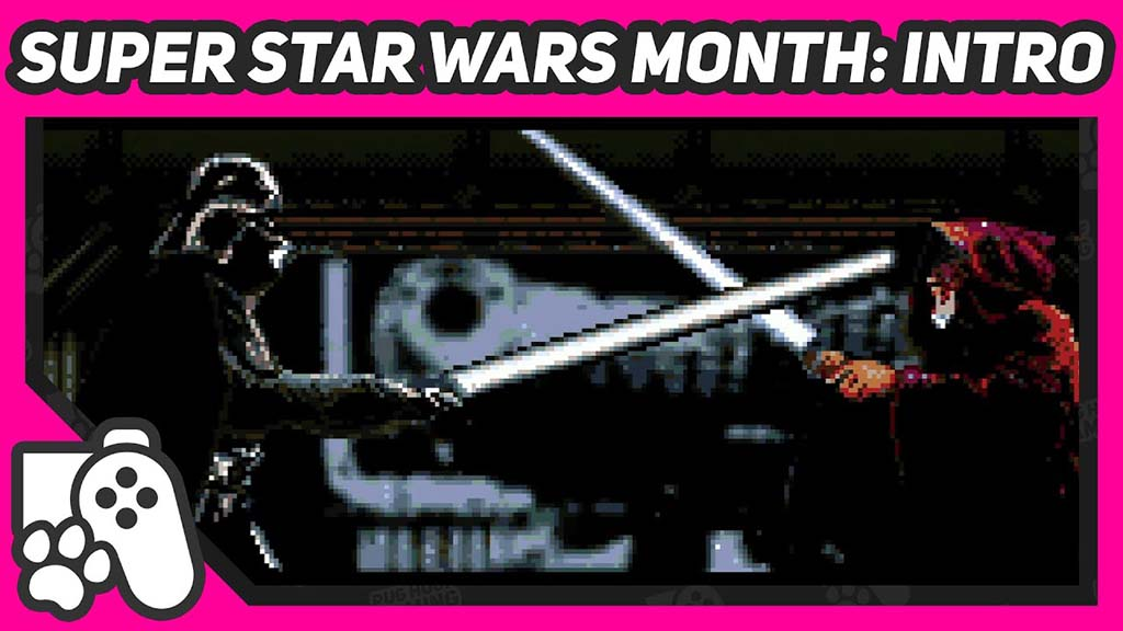 Darth Vader In a lightsabre battle with obi wan kenobi, from Super Star Wars