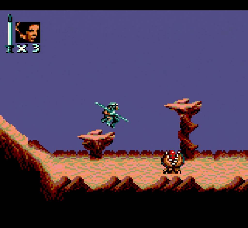 Screenshot of Return of The Jedi Game Gear version