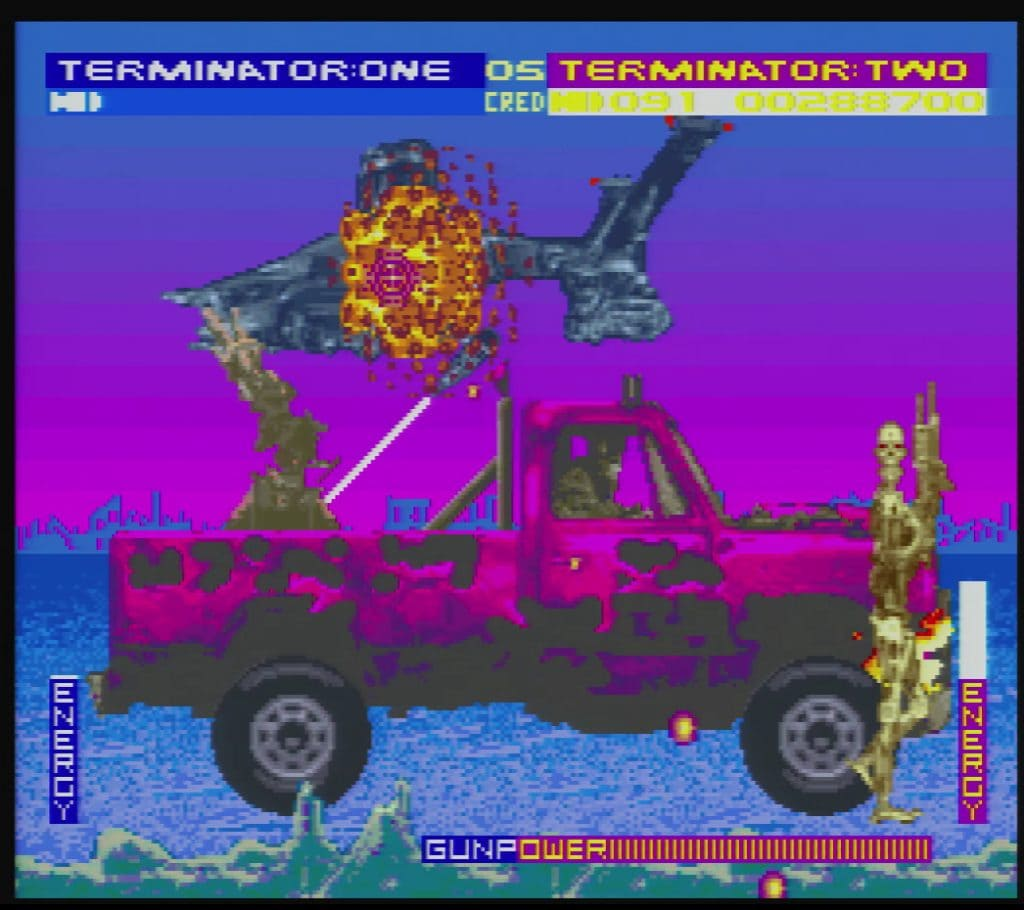 terminator 2 the arcade game snes review
