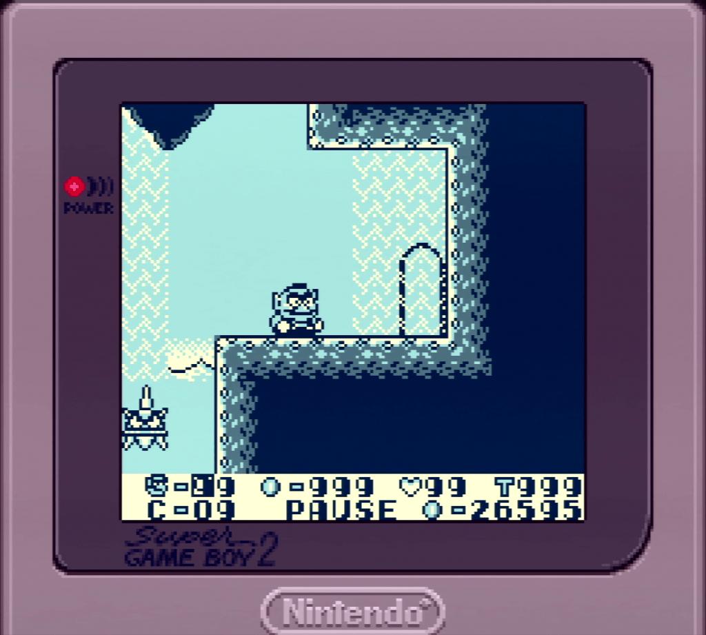 Wario Land Cheats Menu Game Boy